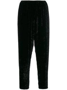 укороченные бархатные брюки Forte Forte