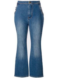 укороченные расклешенные джинсы Ellery