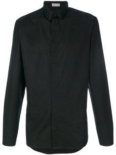 рубашка с потайной застежкой Dior Homme