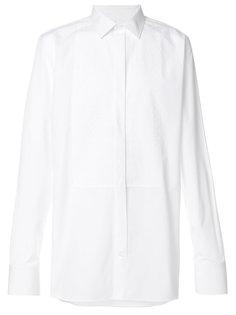 рубашка с кружевной панелью Alexander McQueen