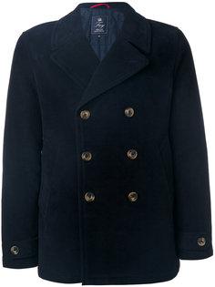 классическое двубортное пальто Fay