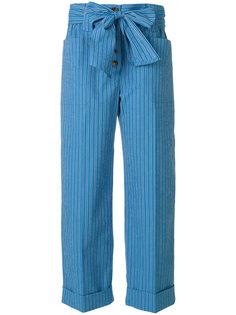 укороченные брюки Robin Tory Burch