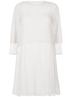 полупрозрачное платье  See By Chloé