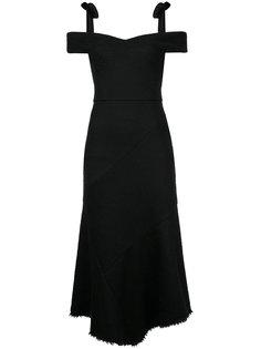 Cardinalle off-shoulder dress Rebecca Vallance