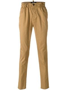 брюки-чинос с эластичным поясом Dsquared2