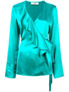 блузка с каскадными воланами Area