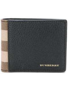складной кошелек House Check Burberry