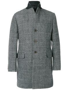 клетчатое пальто Fay