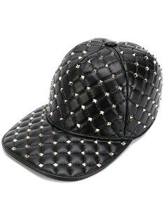 кепка с заклепками Valentino Garavani Rockstud Spike Valentino