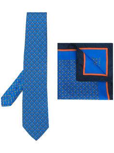 галстук и нагрудный платок  Etro