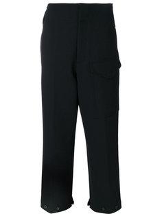 укороченные брюки с большими карманами  Joseph