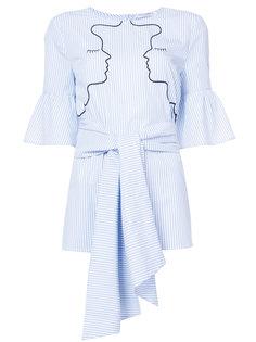блузка с поясом Vivetta