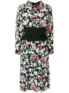 платье с принтом Chanel Vintage