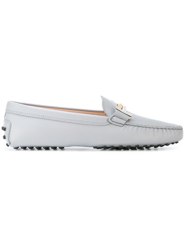 flat heel loafers Tod's