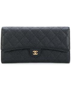 классический стеганый клатч Chanel Vintage