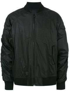 куртка-бомбер со сборками на рукавах D.Gnak