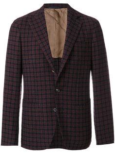 клетчатый пиджак Caruso