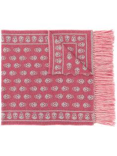 трикотажный шарф Alexander McQueen