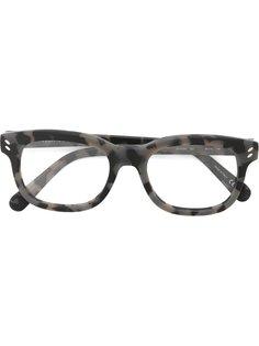 оптические очки в прямоугольной оправе  Stella Mccartney Eyewear