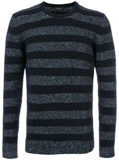 свитер в полоску Roberto Collina