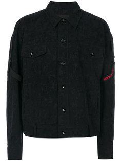 куртка с лямками и камуфляжным принтом D.Gnak