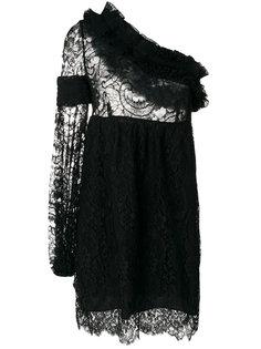 кружевное платье на одно плечо Givenchy Vintage