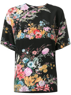 блузка с цветочным принтом Nº21