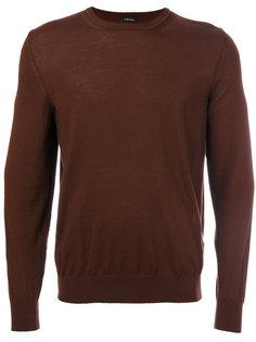 свитер с круглым вырезом Z Zegna