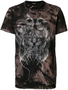 футболка с принтом тигра Balmain