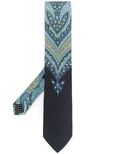 галстук с абстрактным принтом Etro