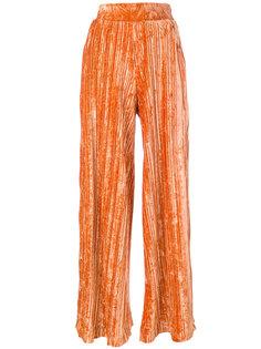 плиссированные брюки Aviù