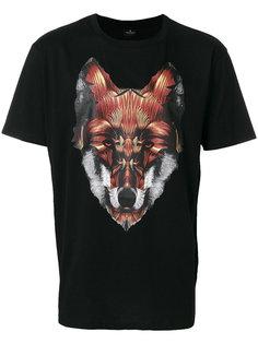 футболка с принтом лисы Marcelo Burlon County Of Milan