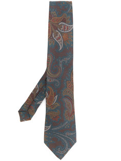 галстук с узором пейсли  Etro
