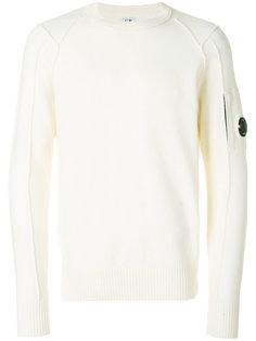 light fleece lens sweatshirt CP Company