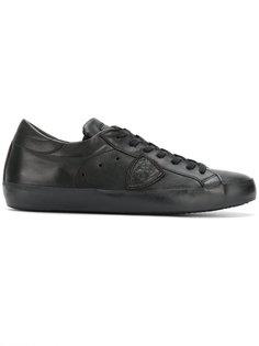 кроссовки на шнуровке Philippe Model