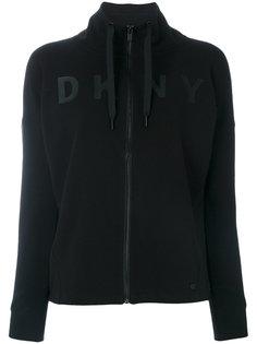 толстовка на молнии с логотипом  DKNY