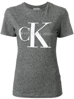 узкая футболка с принтом с логотипом  Ck Jeans