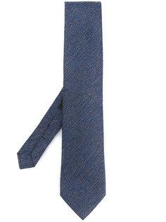 трикотажный галстук с нечеткими полосками Etro