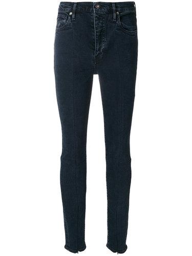 джинсы с молниями на манжетах  Levi's: Made & Crafted