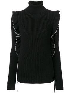 свитер с оборкой  Nº21