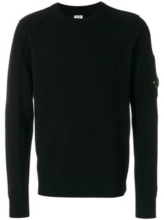 light fleece lens sweatshirt CP Company