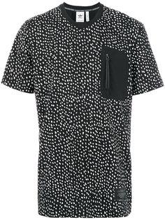 футболка с пятнистым принтом Adidas Originals