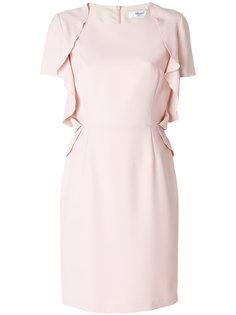 платье с драпировкой на рукавах  Blugirl