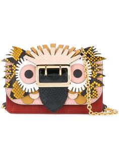 мини-сумка с пряжкой с изображением зверя Burberry