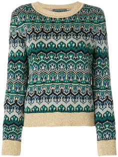 вязаный свитер с круглым вырезом  Alberta Ferretti