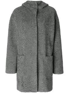 свободное пальто с капюшоном  Vanessa Bruno Athé
