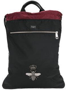 рюкзак с аппликацией пчелы Dolce & Gabbana