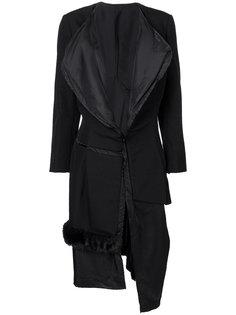 деконструированное пальто-пуховик с  Comme Des Garçons Vintage