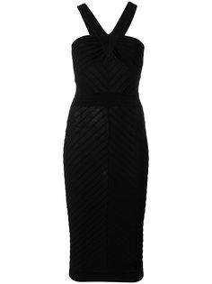 платье с перекрестными лямками Moschino Vintage