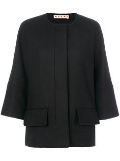 пиджак без воротника  Marni